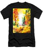 Fall Forest Men's T-Shirt (Athletic Fit)