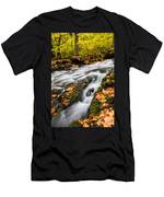 Fall In The Poconos Men's T-Shirt (Athletic Fit)