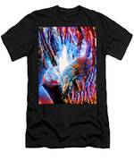 Falling Through Fire Men's T-Shirt (Athletic Fit)