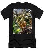 Fern Swirls Men's T-Shirt (Athletic Fit)