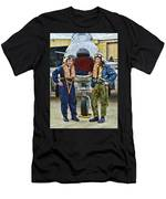 Fighter Pilots Men's T-Shirt (Athletic Fit)