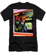 Fireman - Inside The Fire Truck Men's T-Shirt (Athletic Fit)