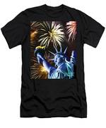 Fires Of Liberty Men's T-Shirt (Athletic Fit)