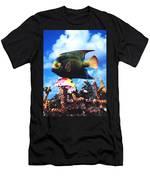 Fish Sculpture Men's T-Shirt (Athletic Fit)