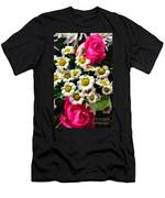 Floral Decoration Men's T-Shirt (Athletic Fit)