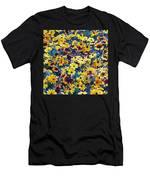 Flower Garden Men's T-Shirt (Athletic Fit)