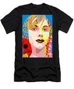 Flowers In Their Hair Men's T-Shirt (Athletic Fit)