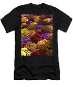 Flowers Near The Grand Palais Off Of Champ Elysees In Paris France   Men's T-Shirt (Athletic Fit)