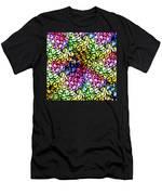 Fluorescent Straws Men's T-Shirt (Athletic Fit)