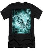 Fly Away Gothic Aqua Men's T-Shirt (Athletic Fit)