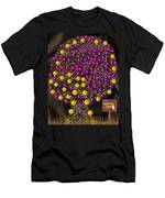 Forbidden Fruit Pop Art Men's T-Shirt (Athletic Fit)