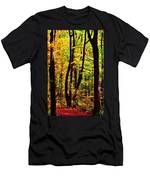 Forest Waves Men's T-Shirt (Athletic Fit)