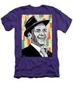 Frank Sinatra Pop Art Men's T-Shirt (Athletic Fit)