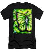 Free As Spring Flowers Men's T-Shirt (Athletic Fit)