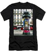 Frida In Paris Men's T-Shirt (Athletic Fit)