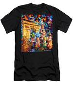 From Moscow To Paris Men's T-Shirt (Athletic Fit)