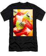 Fruit Salad Macro Men's T-Shirt (Athletic Fit)