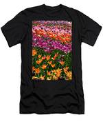 Fruity Tulips Men's T-Shirt (Athletic Fit)
