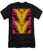 Fuchsia Sensation Abstract Men's T-Shirt (Athletic Fit)