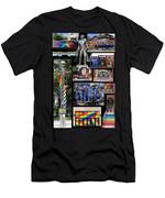 Gay Village 1 Men's T-Shirt (Athletic Fit)
