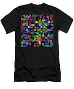 Geometric Pattern 2 Men's T-Shirt (Athletic Fit)