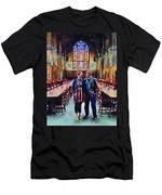 George And Chrissy At Hogwarts Men's T-Shirt (Athletic Fit)