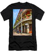 Getting Around The French Quarter - Watercolor Men's T-Shirt (Athletic Fit)