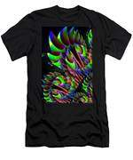 Glow In The Dark Abstract Men's T-Shirt (Athletic Fit)