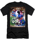 God And Gaia Men's T-Shirt (Athletic Fit)