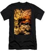 Golden Caverns Men's T-Shirt (Athletic Fit)