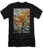 Golden Tree Lined Sky Men's T-Shirt (Athletic Fit)