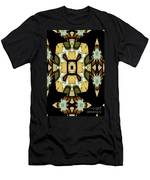 Gong Sound Mandala Yantra Men's T-Shirt (Athletic Fit)
