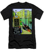 Grand Canal Scene Men's T-Shirt (Athletic Fit)