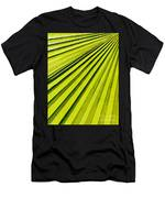 Green Palm Frond Men's T-Shirt (Athletic Fit)