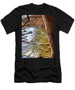 Guadalupe River View Men's T-Shirt (Athletic Fit)