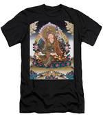 Guru Rinpoche Thangka Art Canvas Men's T-Shirt (Athletic Fit)