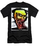 Halloween Mask Men's T-Shirt (Athletic Fit)