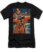Hank Aaron In Hdr Men's T-Shirt (Athletic Fit)