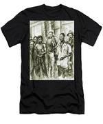 Harlem Guys - New York Art Men's T-Shirt (Athletic Fit)