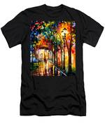 Harmony - Palette Knife Oil Painting On Canvas By Leonid Afremov Men's T-Shirt (Athletic Fit)