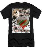 Have A Meowey Merry Christmas Men's T-Shirt (Athletic Fit)