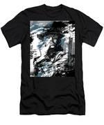 He Calls It Home - Blue Men's T-Shirt (Athletic Fit)