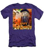 Feel Good Happy Halloween Men's T-Shirt (Athletic Fit)