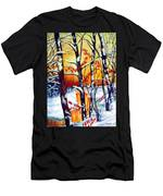 Highland Creek Sunset 2  Men's T-Shirt (Athletic Fit)