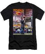 Hoop Shots Men's T-Shirt (Athletic Fit)