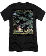 House And Garden Spring Gardening Guide Cover Men's T-Shirt (Athletic Fit)