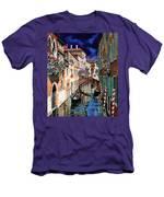 Inchiostro Su Venezia Men's T-Shirt (Athletic Fit)