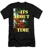 Its About Time Men's T-Shirt (Athletic Fit)
