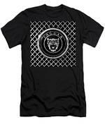 Jaguar Grille Emblem -0317bw Men's T-Shirt (Athletic Fit)