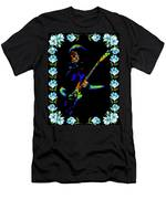 Jerry And The Flowers 2 Men's T-Shirt (Athletic Fit)